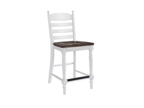 Belgium Farmhouse Ladderback Counter stool