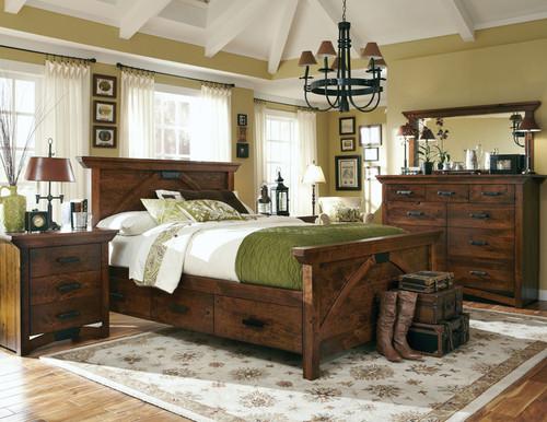 B& O Railroad Bedroom Set