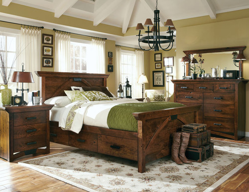 B& O Railroad Bedroom Set