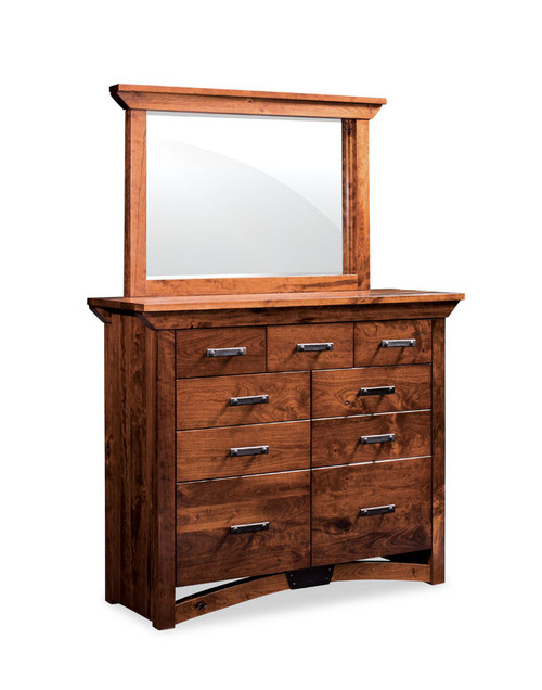 B&O Railroad Mule Chest and mirror