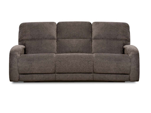 Power reclining Sofa with Massage, heat, adjustable power lumbar and headrest features. Can be custom ordered in fabric or leather.