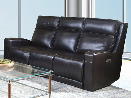 M75P Power Reclining Leather Sofa