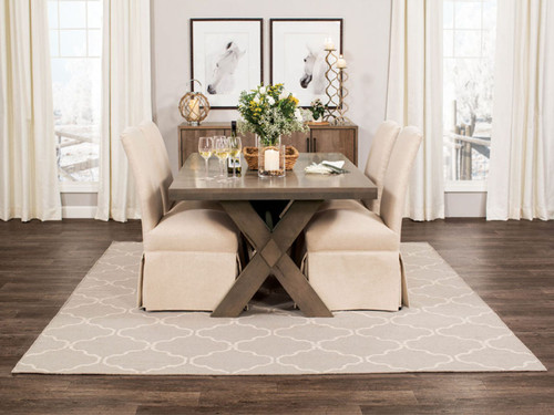 Wildwood Dining Table in Barnwood stain on Maple