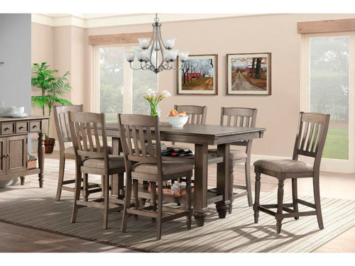Balboa Park Counter high table set