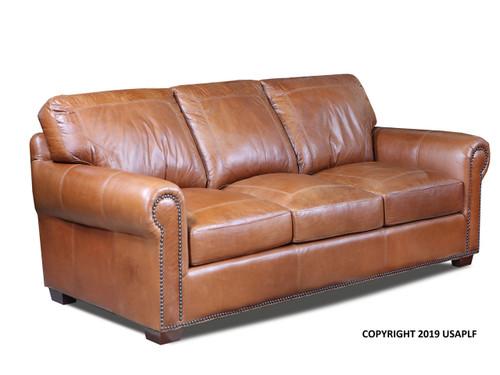 Saddle Glove All leather sofa Genuine leather Made in Utah