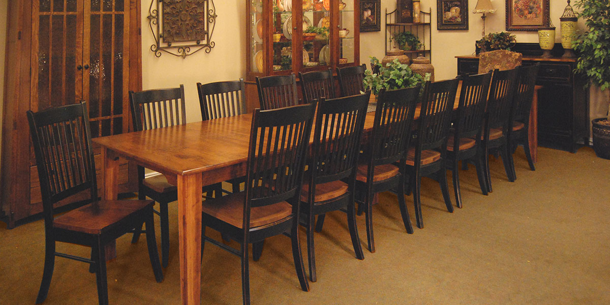 Vintage Oak Furniture - Vintage Oak Furniture, Solid Wood, Leather Recliners, Simply Amish
