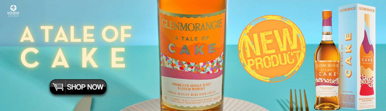 A Tale Of Cake from Glenmorangie has Finally Arrived!  Get your Party's Cake at Holiday Wine Cellar!
