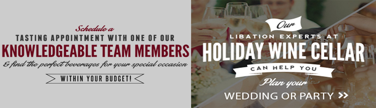 Plan Your Party With Libation Experts at Holiday Wine Cellar