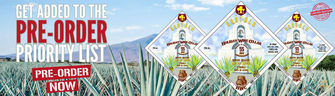 Sign Up & Get Added To the HWC Crotalo Tequila Pre-Order Priority List TODAY!