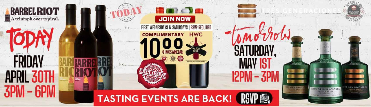 The Perfect Sipping & Shopping Experience Happens At Holiday Wine Cellar!