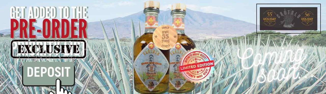 Secure this LIMITED & EXCLUSIVE Release of the HWC Vacaciones Sesenta Y Cinco Tequila Crotalo Extra Añejo