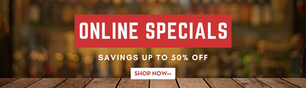 Online Only Specials - Shop Now