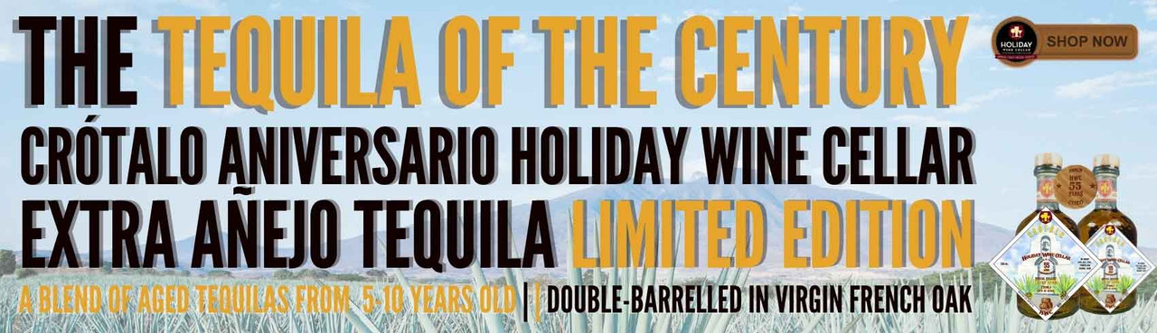 The Tequila Of The Century - HWC's Anniversary Limited Edition Extra Añejo Tequila by Crotalo