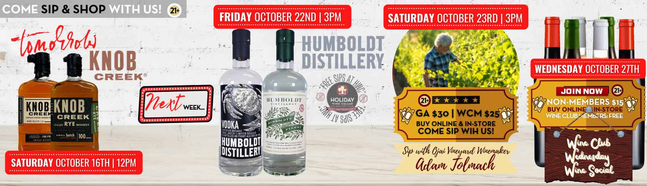 New Tasting Events On The Horizon! Click to see more details