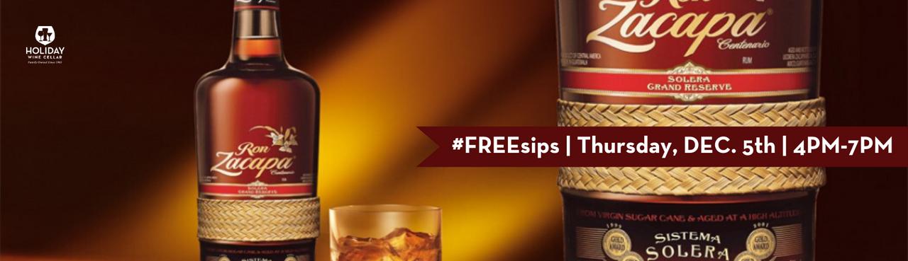Ron Zacapa Rum | FREEsips