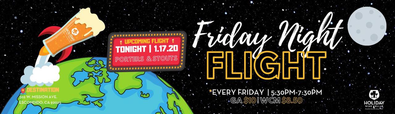 T.G.I.Friday Night Flights are back!