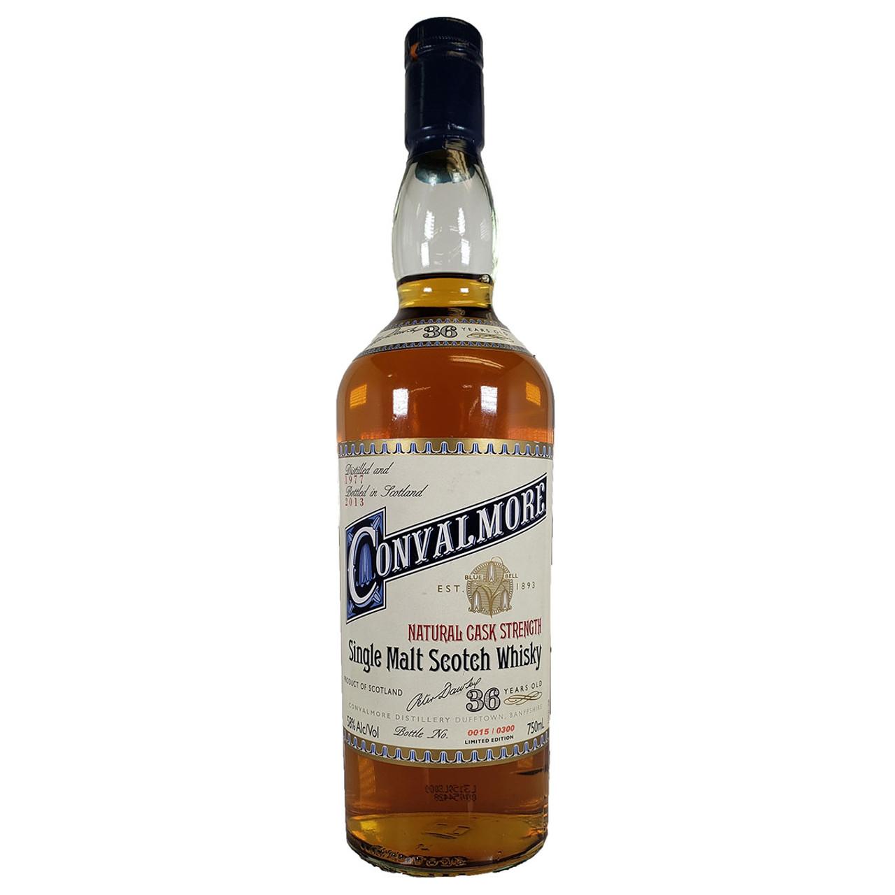 Convalmore 36 Year Old Single Malt Scotch Whisky Holiday Wine Cellar