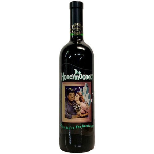 Celebrity Cellars Collector's Edition 1996 The Honeymooners Red Blend