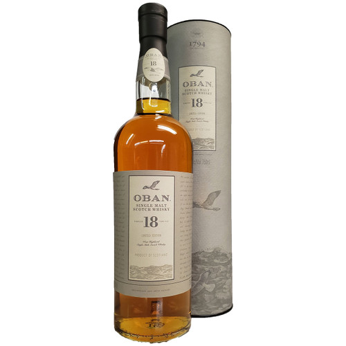 Oban 18 Year Highland Scotch Whisky Limited Edition