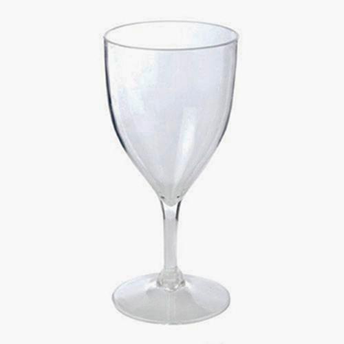 True Acrylic Wine Glass