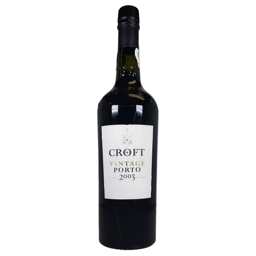 Croft 2003 Vintage Port
