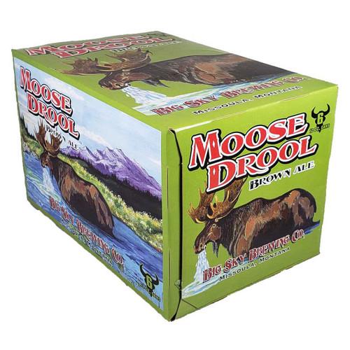 Big Sky Moose Drool Brown Ale 6-Pack Can