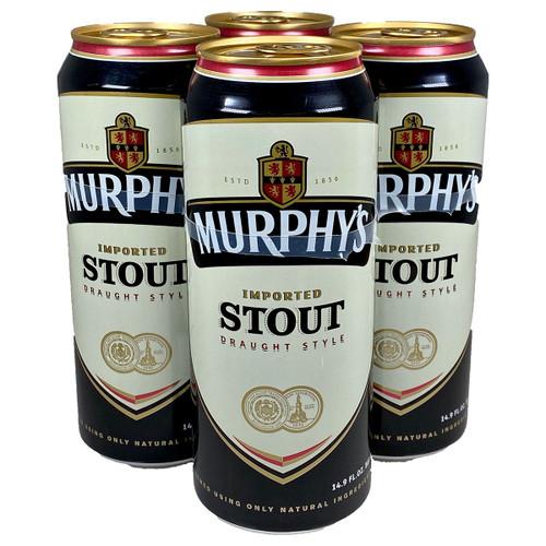 Murphy's Irish Stout Draught Style 4-Pack Can