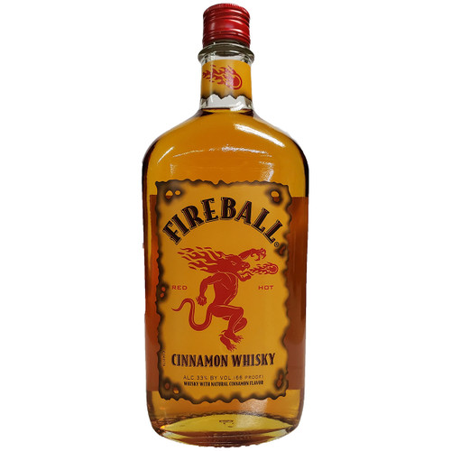 Fireball Cinnamon Flavored Whisky
