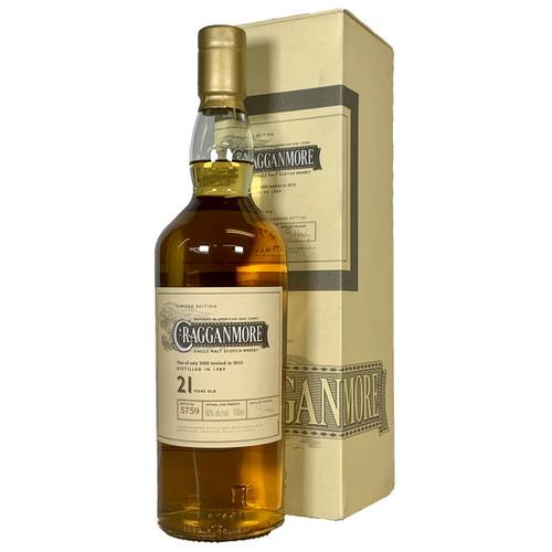 Cragganmore 21 Year Single Malt Scotch