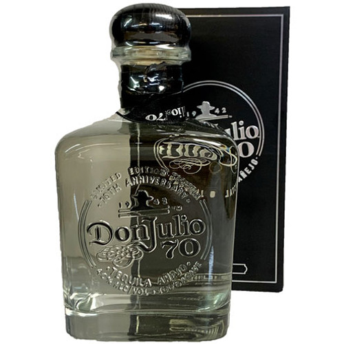 Don Julio 70 Limited Edition Crystal Claro Anejo Tequila