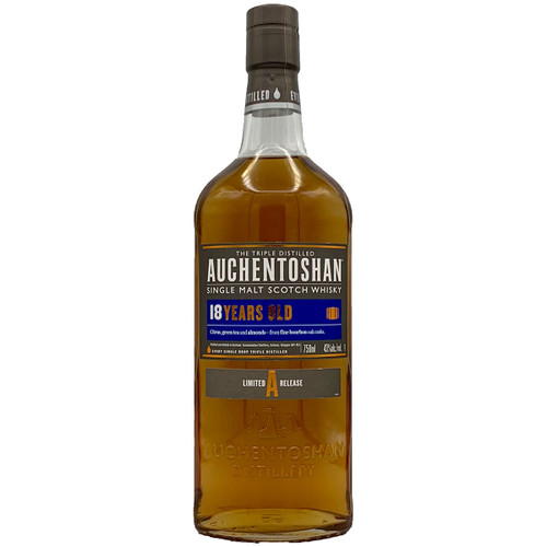 Auchentoshan 18 Year Single Malt Scotch