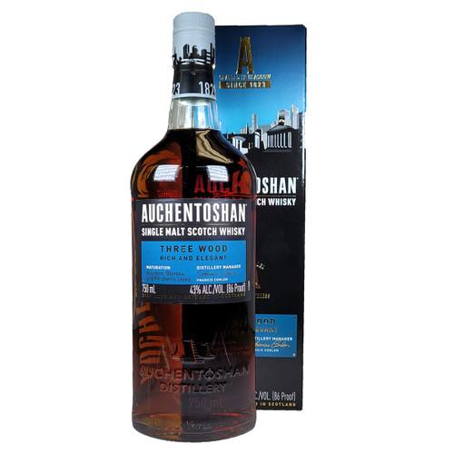 Auchentoshan Three Wood Single Malt Scotch