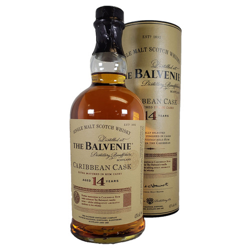 The Balvenie 14 Year Caribbean Rum Cask Single Malt Scotch Whisky