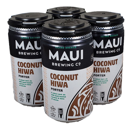 Maui Coconut Hiwa Porter 4-Pack Can