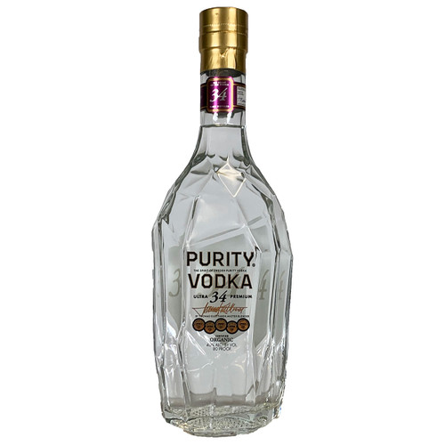 Purity Organic Swedish Vodka