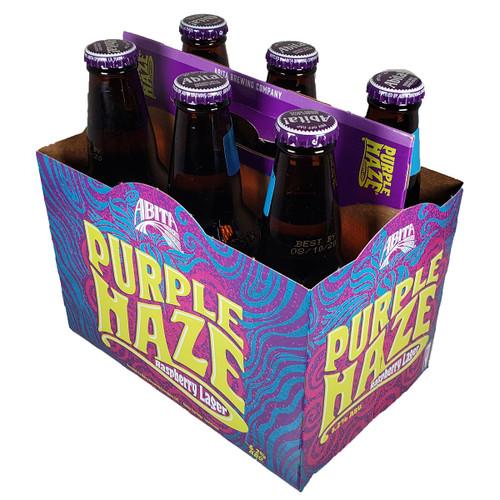 Abita Purple Haze Rasperry Lager 6-Pack