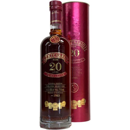 Centenario Fundacion 20 Year Rum