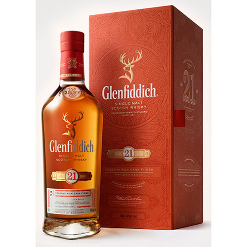 Glenfiddich 21 Year Old Gran Reserva Scotch Whisky