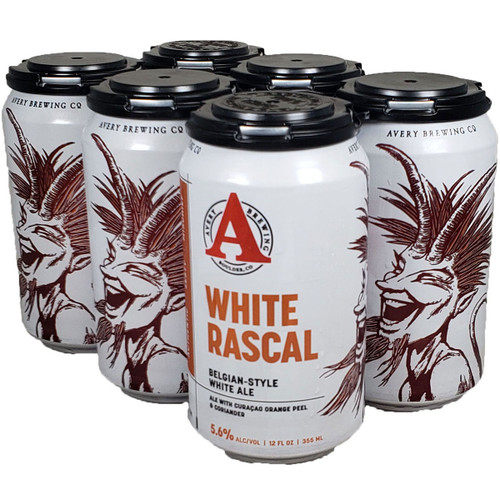 Avery White Rascal 6-Pack Can