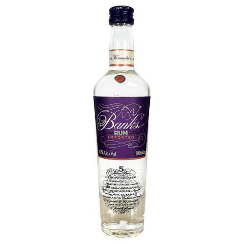 Banks 5 Island White Rum 100ML