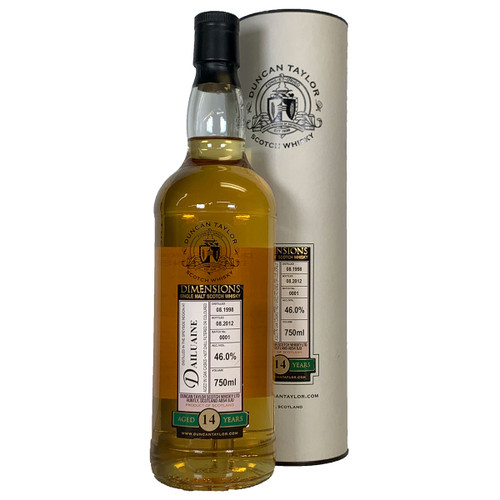 Duncan Taylor 1998 Dailuane Speyside Single Malt Scotch