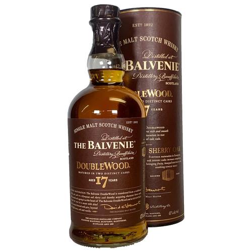 Balvenie Doublewood 17 Year Single Malt Scotch Whisky