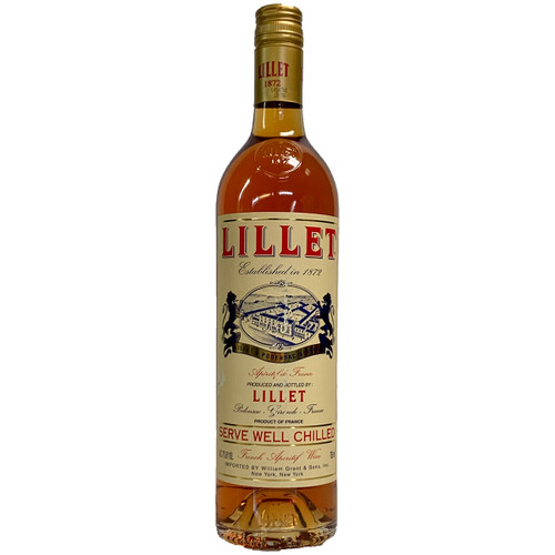 Lillet Rose French Aperitif