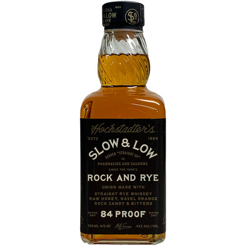 Hochstadter's Slow And Low Rock And Rye