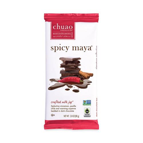 Chuao Spicy Maya Chocolate Bar 2.8OZ