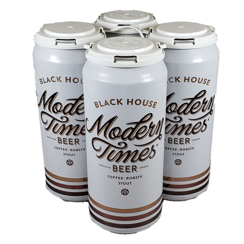 Modern Times Black House Oatmeal Coffee Stout 4-Pack Can