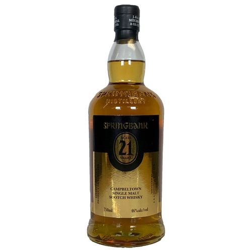 Springbank 21 Year Old Single Malt Scotch Whisky