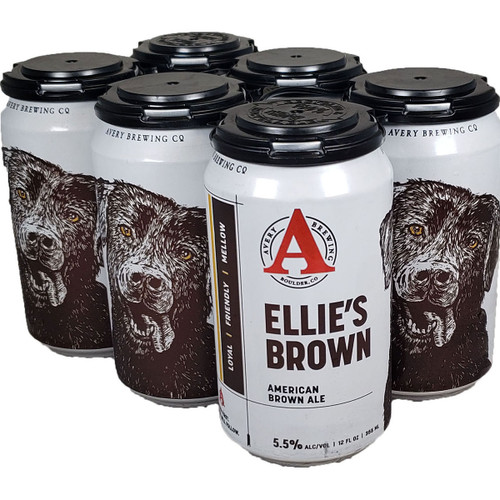 Avery Ellie's Brown Ale 6-Pack Can