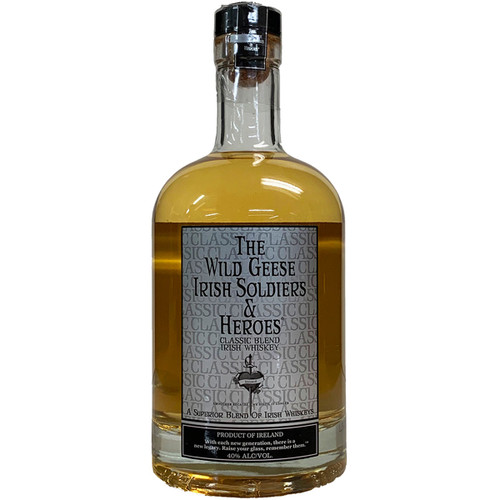 The Wild Geese Irish Soldiers and Heroes Classic Blend Irish Whiskey