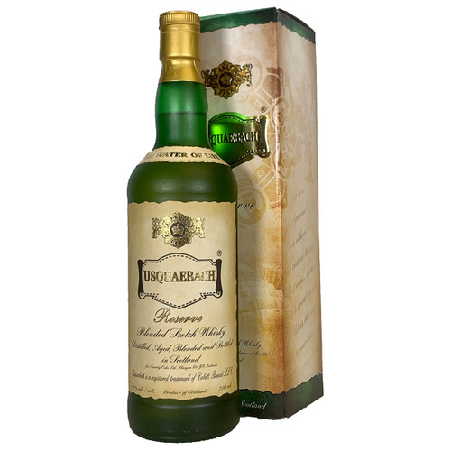 Usquaebach Reserve Blended Scotch Whisky In Gift Box
